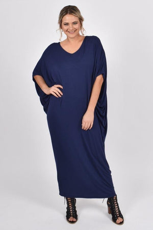 PQ Collection Maxi Miracle Dress - Navy