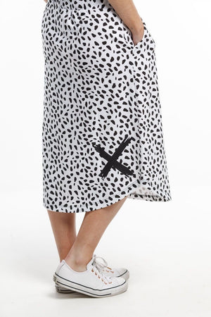 Home-Lee Pebble Midi Skirt