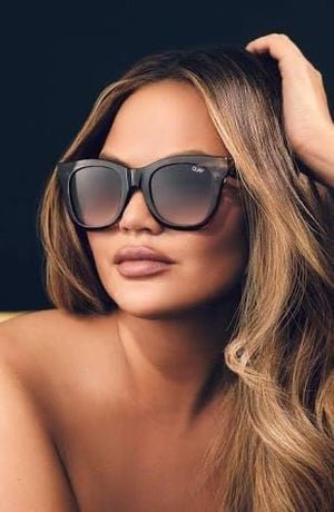 Quay Sunnies - After hours Brown Tort