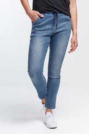 Home-Lee Daily Jeans - Blue Wash