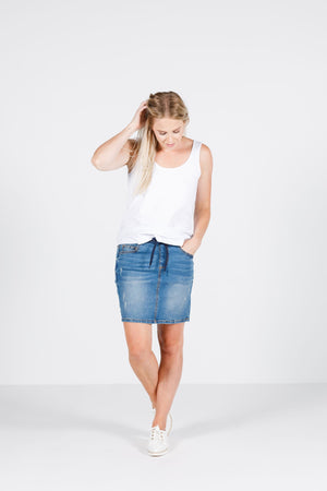 Home-Lee Denim Skirt