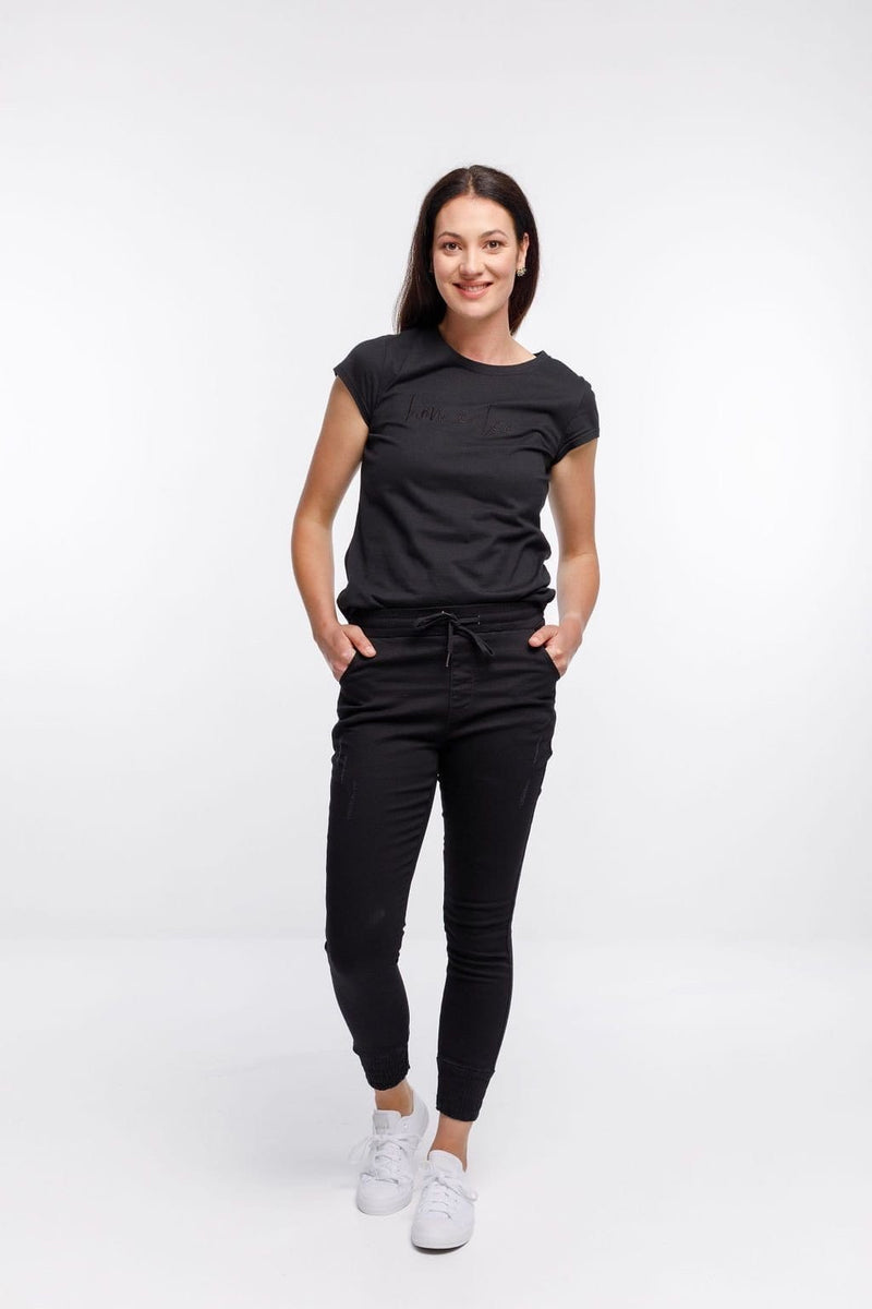 The Weekender Jeans by Home Lee - Jet Black