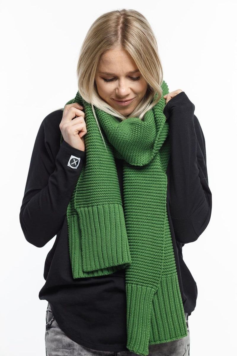 Home-Lee Scarf Green - French Kiss Boutique NZ