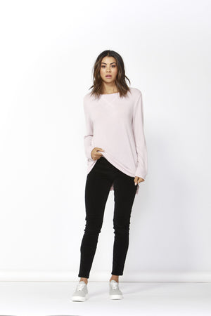 Ryder Cross Back Sweater by Betty Basics - Blossom