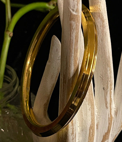 Christina Gold Plated Bangles