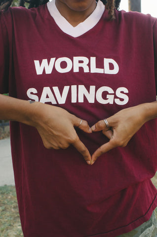 World Savings Vintage Tee