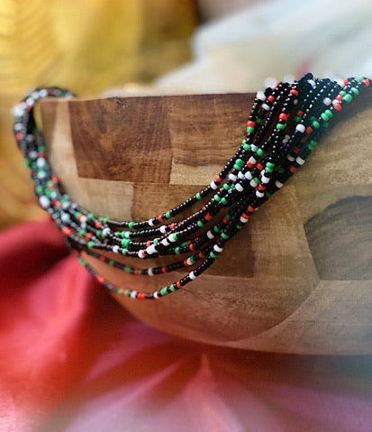 """The Vintage Native"" Fringe Choker"