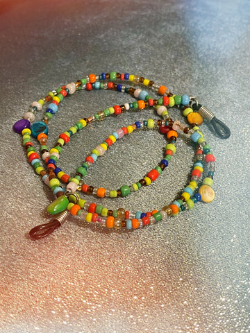 Cute Lil Seed Bead Eyeglass Chain