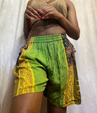 Lemongrass Patchwork Shorts