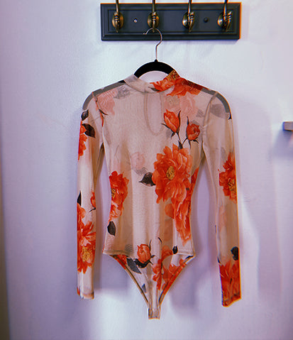 Naked Flower BodySuit
