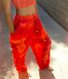 Red Fish Lounge Pants
