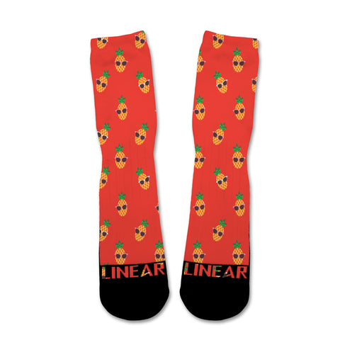 Cool As A Pineapple Socks