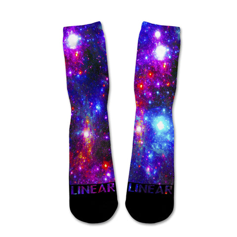 Galaxy Explosion Socks
