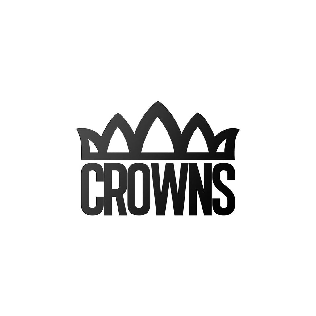 """CROWNS"" LOGO WORDMARK STICKER"