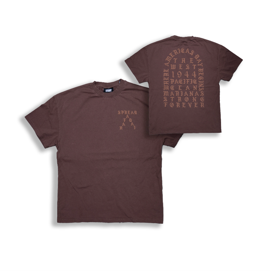 PREMIUM EARTH TONE S/S TEE (MUD BROWN)