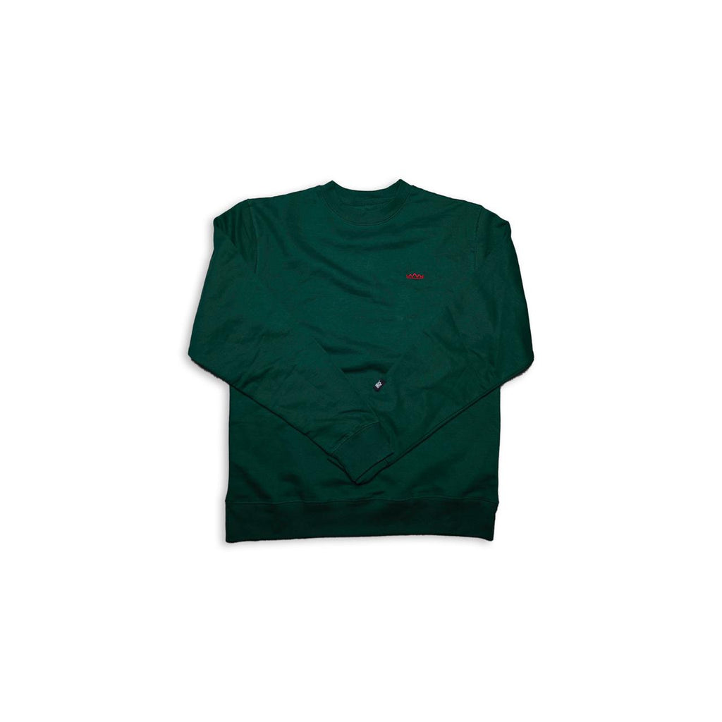 Crowns Holiday L/S in Green