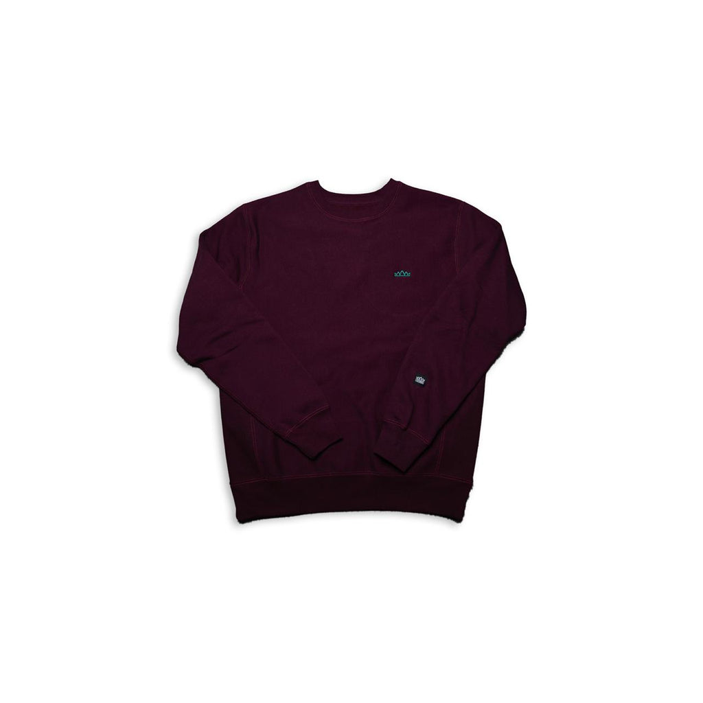 Crowns Holiday L/S in Maroon
