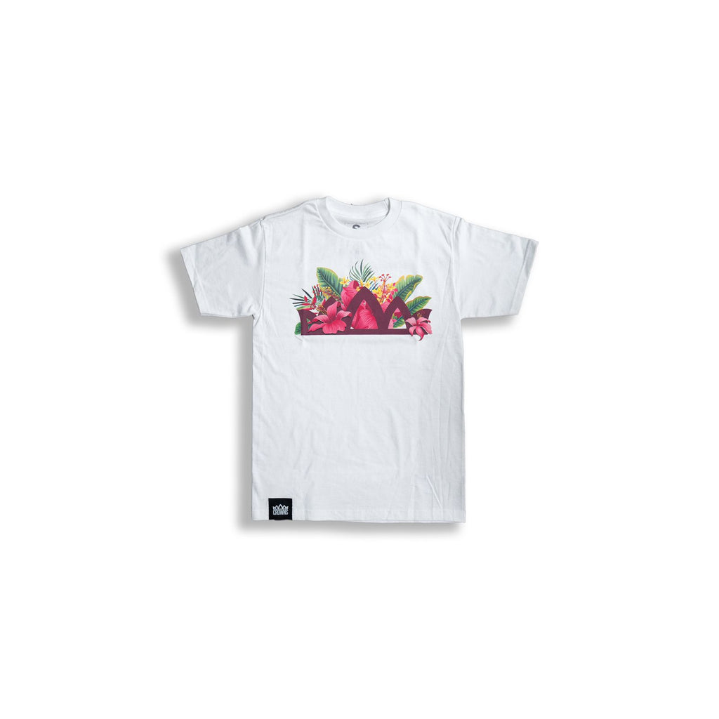 BOUQUET CROWN S/S TEE (WHITE)