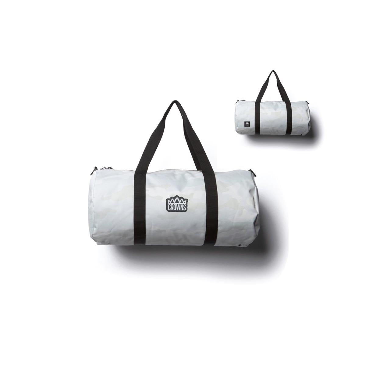 White Camo Duffle Bag
