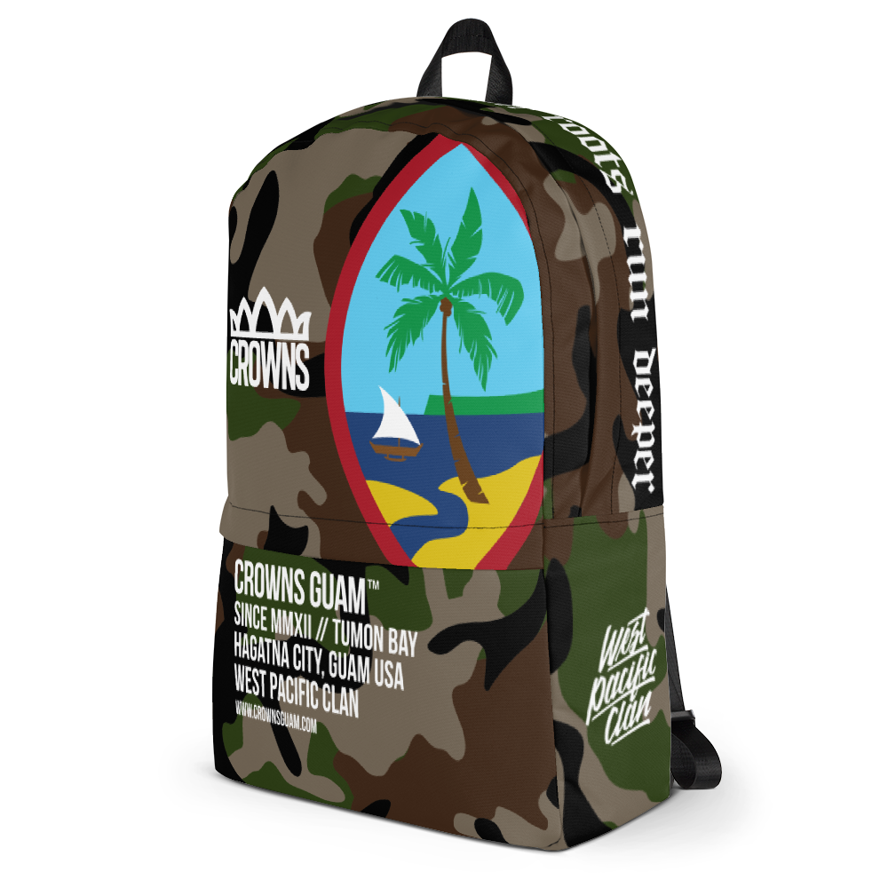Camo Seal Deluxe Backpack