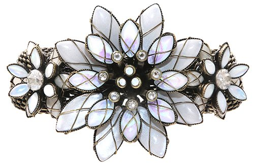 bracelet Psychodahlia white antique brass medium, extra small