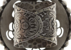 ring Sinners and Saints black antique silver large