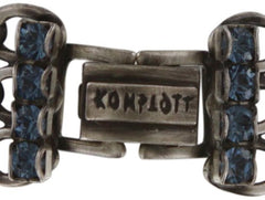 bracelet Mad Max blue antique silver