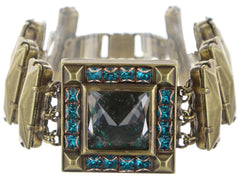 bracelet Iceberg De Luxe green antique brass