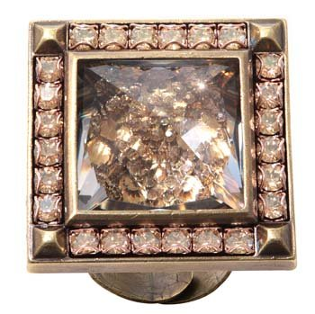 ring Iceberg De Luxe beige antique brass