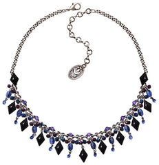 necklace Arabic Nights blue antique silver