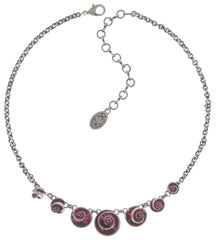necklace Classic Twist dark rose antique silver