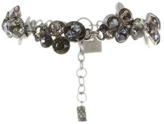 bracelet Petit Glamour grey antique silver