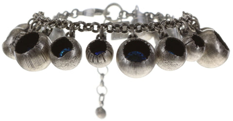 bracelet Cocoon blue antique silver