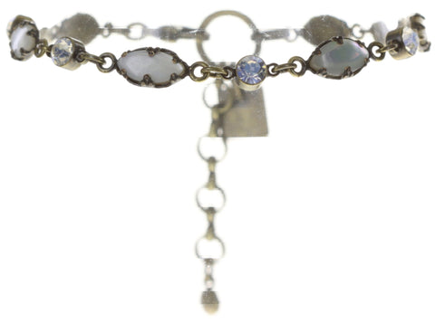 bracelet Dangerous Liaisons white antique brass