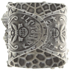 ring Ballroom grey antique silver