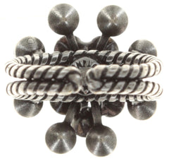 ring Magic Fireball grey antique silver Classic Size (21mm Ø)