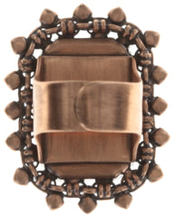 ring Aztec lila antique copper