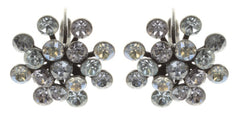 earring eurowire Magic Fireball light pastel multi antique silver Classic Size (21mm Ø)
