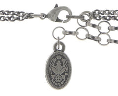 necklace Dream Catcher multi antique silver extra small