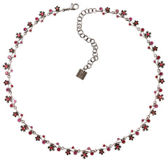 necklace Eternal Glory red antique silver