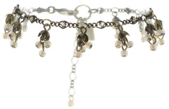 bracelet Forget Me Not brown/lila antique brass