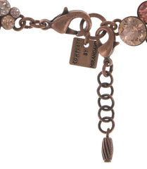 bracelet Petit Glamour beige/pink antique copper