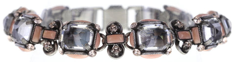 bracelet Color on the Rocks rose antique silver size S