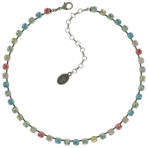 necklace Colour Snake pastel multi antique silver SS 29