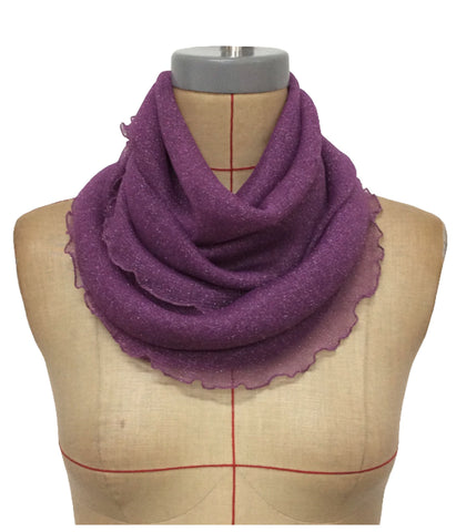 Accessories Shawl-Snuggle Scarf BASIC DESIRES Mesh One