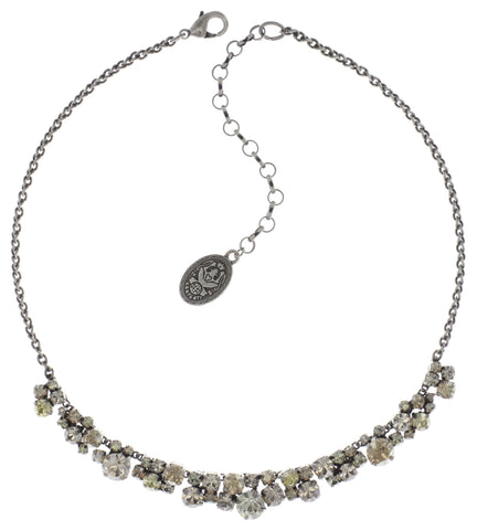 necklace Ballroom Classic Glam beige antique silver