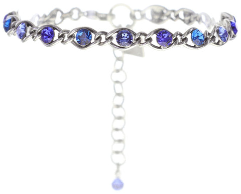 bracelet Magic Fireball blue antique silver