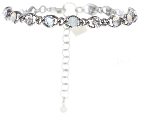 bracelet Magic Fireball white antique silver