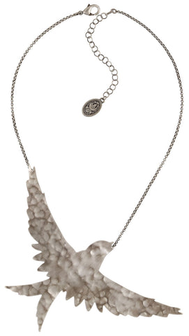 necklace The Sparrow silver antique silver size XL