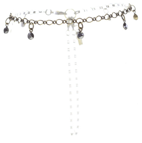 anklet Festival Anklet black antique brass